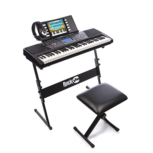 RockJam 561 61-Key Digital Piano Keyboard SuperKit (Electronics Sale compare prices)