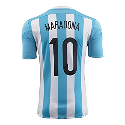 Maradona #10 Argentina Home Soccer Jersey 2015 YOUTH.
