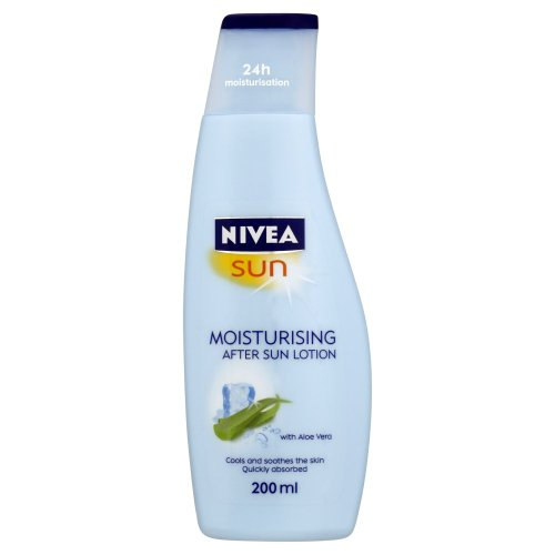 Nivea Sun Moisturising After Sun Lotion with Aloe Vera Silky Skin Feeling 200ml