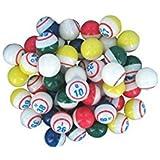 NATIONAL BINGO Deluxe 5- Color Ping Pong Bingo Ball