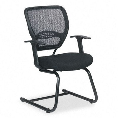 Professional Visitors Chair with Air Grid Back and Mesh Seat
