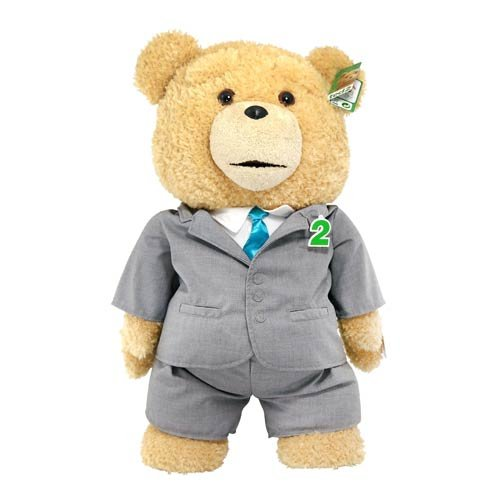 Ted 2 Ted in Suit 24-Inch R-Rated Talking Plush Teddy Bear