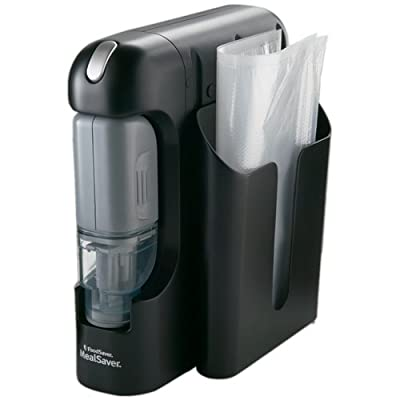 FoodSaver FSMSSY0210 MealSaver Compact Vacuum-Sealing System by FoodSaver