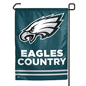 nfl philadelphia eagles garden flag party
