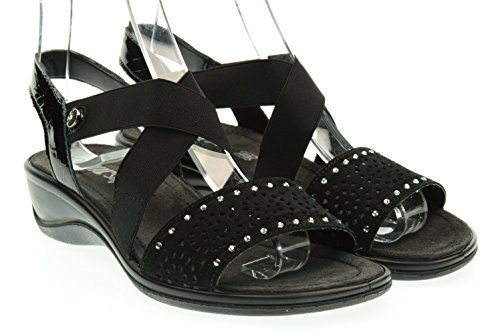 ENVAL SOFT donna sandali 59610/00 36 Nero