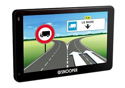 Navigation GPS SNOOPER PL5200 NOIR EUROPE 46 PAYS