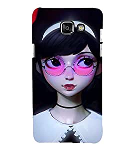 EPICCASE watching you Mobile Back Case Cover For Samsung Galaxy A3 (2016) (Designer Case)