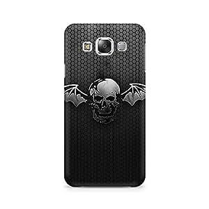 Ebby Black Skull Wings Premium Printed Case For Samsung Grand 3 G7200