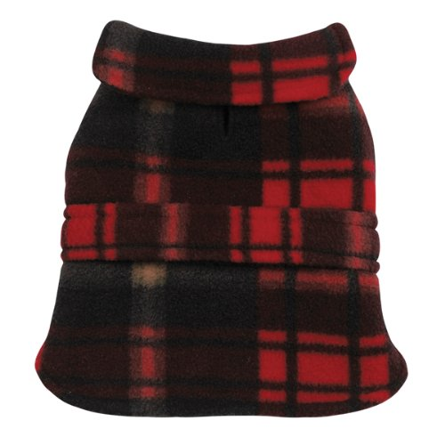 Casual Canine Polyester Plaid Fleece 20-Inch