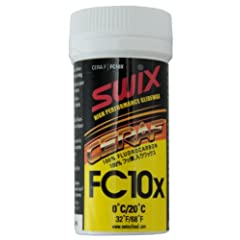 Buy Swix FC10x Cera F FluoroCarbon Powder Ski Wax - 30 grams 2012 by Swix