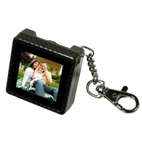 Digital Foci Pao-150 1.5-Inch Pocket Album Oled Keychain Digital Photo Viewer (Carbon Fiber)