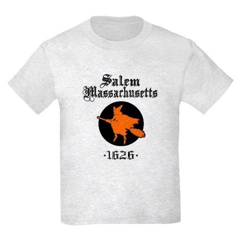 Salem Massachusetts Kids T-Shirt