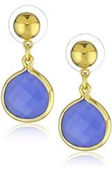 "Amanda Rudey ""Timeless Beauty"" Violet Earrings"
