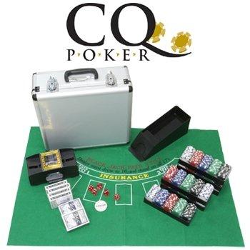 CQ Set de Poker Deluxe Complet inc.. jetons, cartes