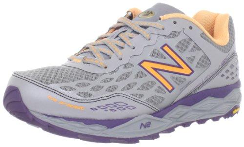 New Balance Women's WT1210 NBX Trail Shoe,Silver/Purple,9 B US