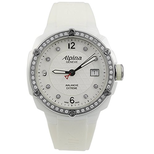 Alpina Extreme Lady Ceramic Mother of Pearl Diamonds Women's Watch AL-240MPWD3AEDC6