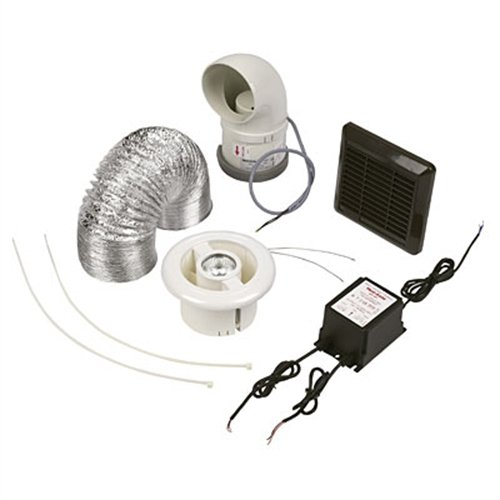 Ventaxia LuminAir Shower Fan / Downlight Kit 453410