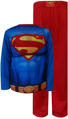 Komar Kids Little Boys' Superman Muscles Pajamas with Cape