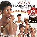 Saga Brazilian Remy Human Hair Weave 39 PCS