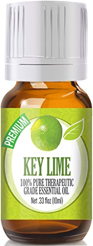 Key Lime 100% Pure, Best Therapeutic Grade Essential Oil - 10ml