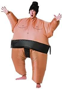 Cesar - Disfraz hinchable de luchador de sumo para hombre (adulto), talla única
