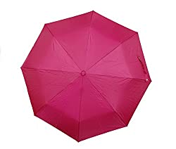 Jorss Unisex 3-Fold Umbrella - Red
