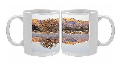 Photo Mug Of Sandhill Crane - At Roost Site In Morning front-587446