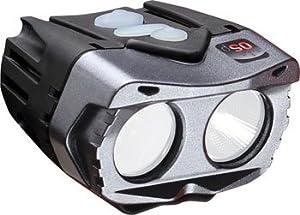 Cygolite Centauri OSP 1500 Lumen Programmable Bicycle Headlight, Black, One Size