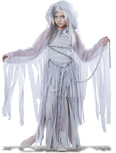 Haunted Ghost Beauty Kids Costume