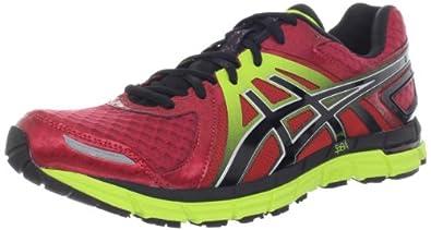 ASICS Men's Gel-Excel33 2 Running Shoe,Red/Black/Lime,9.5 M US
