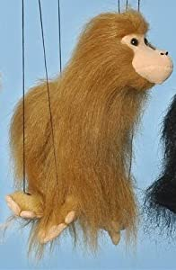 "16"" Brown Monkey Marionette Small from Sunny & Co Toys"