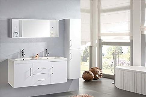 Mobile da Bagno Sospeso White Malibù Carnelli Bianco