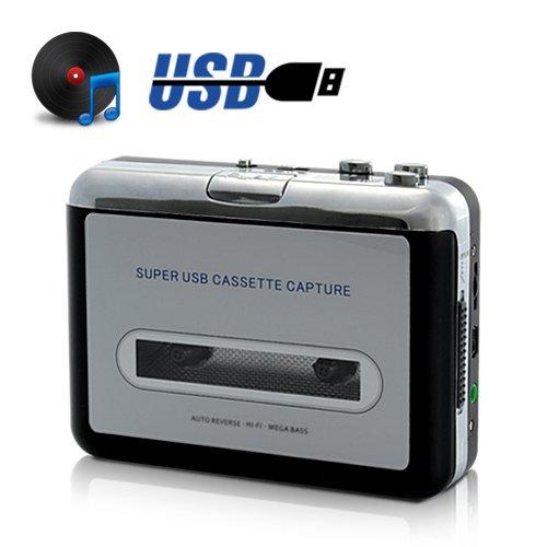 High-Tech Place Lecteur cassette - convertisseur lecteur MP3
