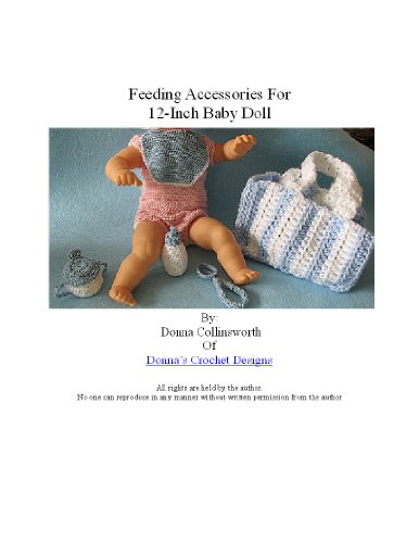 12-inch Baby Doll Feeding Set Crochet Pattern