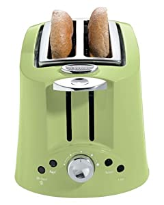 Eclectrics 2-Slice Toaster, Apple Green