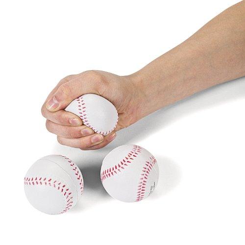 Foam Relaxable Realistic Baseball Sport Balls (1 dz)