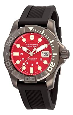 Victorinox Swiss Army Men's 241427 Dive Master Red Dial Watch