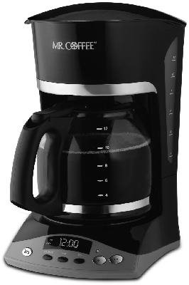 Sunbeam Products Skx23-Np 12-Cup Programmable Pause 'N Serve Coffeemaker, Black Coffee Makers, Drip, 12 Cup +