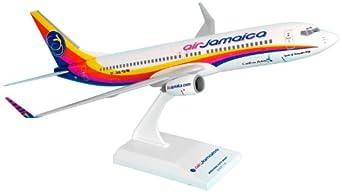 Daron Skymarks Air Jamaica 737-800 Airplane Model Building Kit, 1/130-Scale