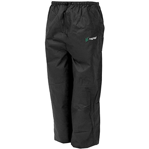 Frogg Toggs Men's Bull Frogg Signature75 HD Pant, Black, Large