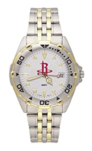 Houston Rockets Mens All Star Watch Stainless Steel Bracelet by Logo Art