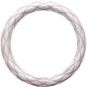 ボンフォーム(BONFORM) ハンドルカバー ルーセント Sサイズ(36.5~37.9cm) ホワイト/ピンク 6852-01WHP