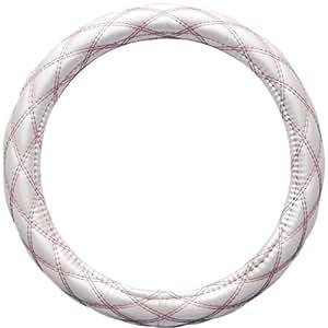 BONFORM ( ボンフォーム ) ハンドルカバー ルーセント Sサイズ(36.5~37.9cm) ホワイト/ピンク 6852-01WHP