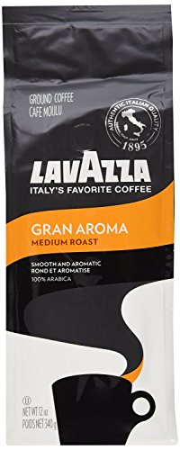 Lavazza Ground Coffee Gran Aroma 340g - Pack of 6 (Coffee Aroma compare prices)