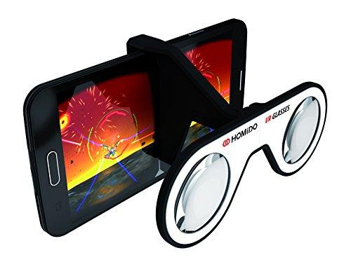 Homido Mini Visore per Realtà Virtuale 3D Tascabile e Pieghevole, Nero