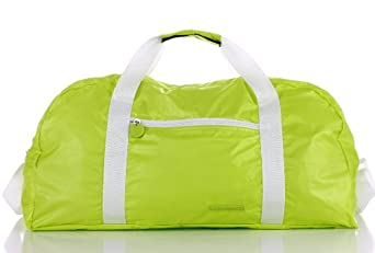 Noble Mount 'Fold N Pack' Duffle - Lime
