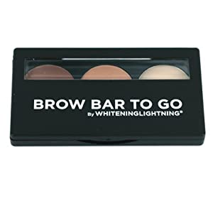 Brow Bar to Go, Brush on Brow - Whitening Lightning