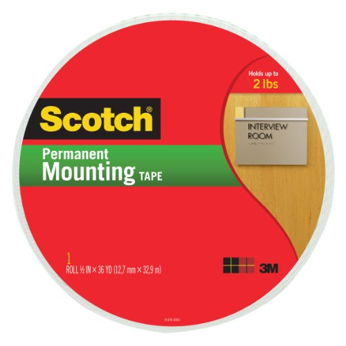 Scotch® Mounting Tape 110-Mr, 3/4-Inch X 38 Yards