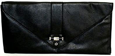 Nine West Springster Large Clutch (Black)
