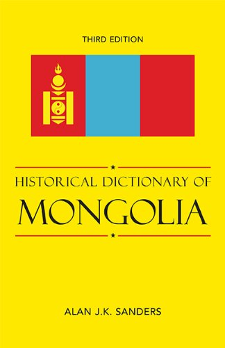Historical Dictionary of Mongolia (Historical